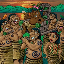 Aboriginal in New Zealand - Children's Book by Ian Coate