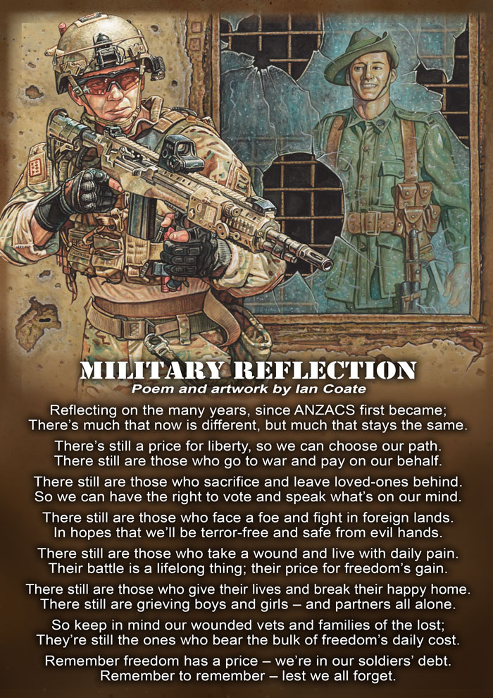 Anzac Poem by Ian Coate