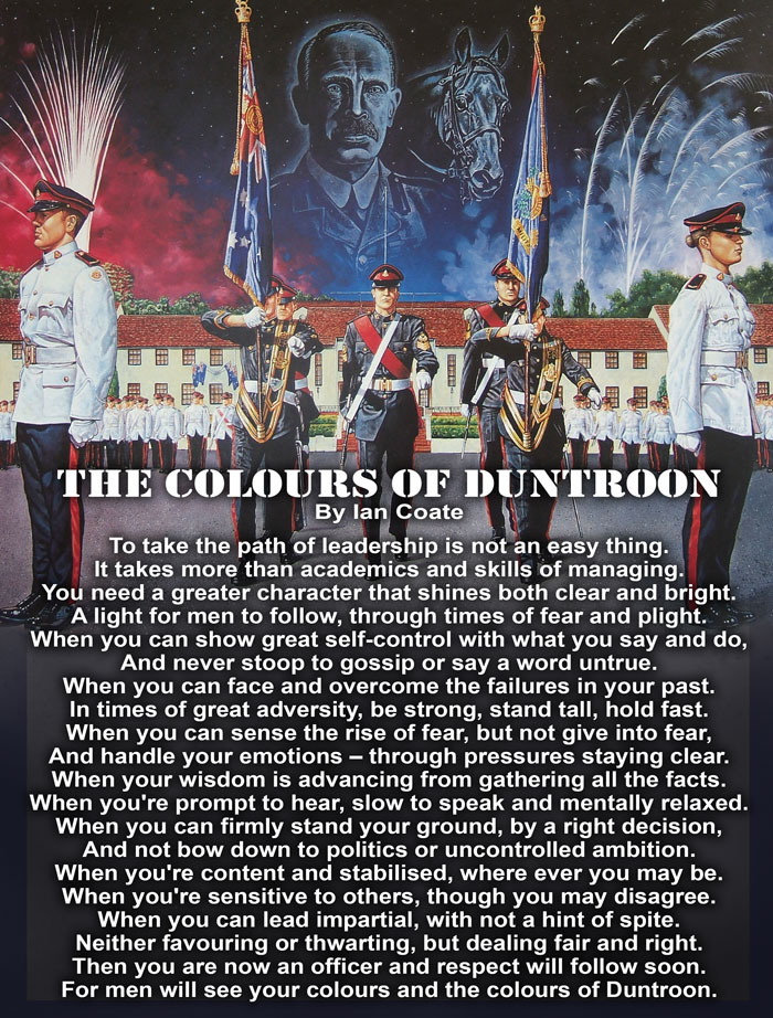 RMC Duntroon Officer