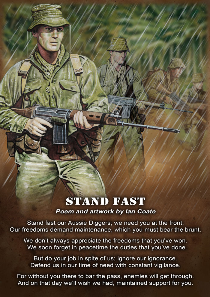Stand Fast Poem by Ian Coate